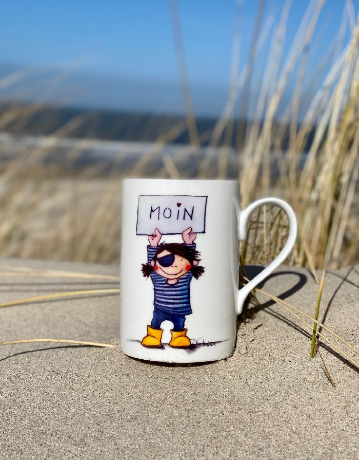 "Becher Pur ""Piratin Mona"""