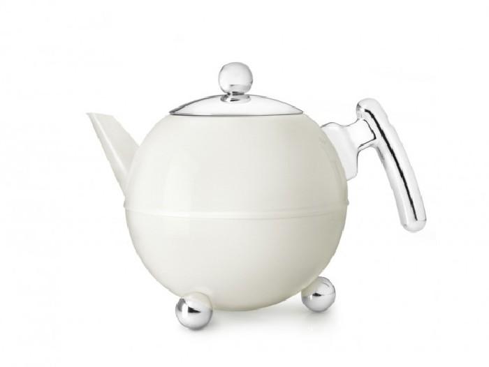 Teekanne Duet® Bella Ronde 1,2L, weiβ