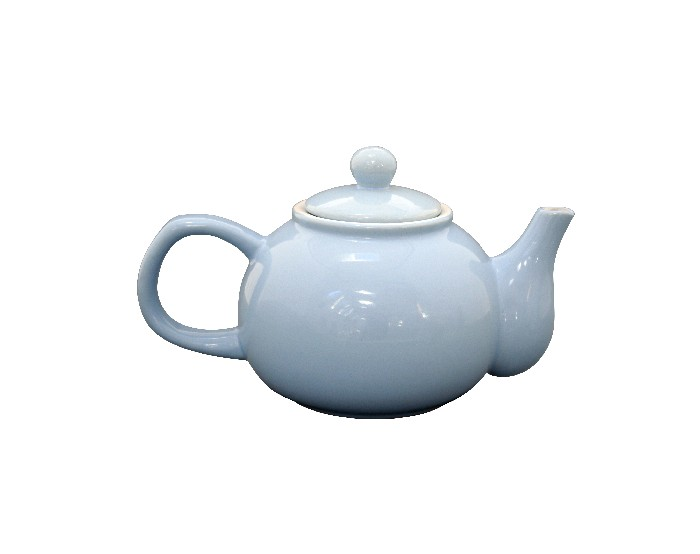 Teekanne hellblau