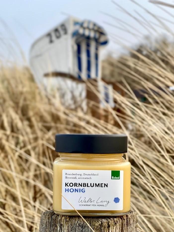 Bio Kornblumen-Honig