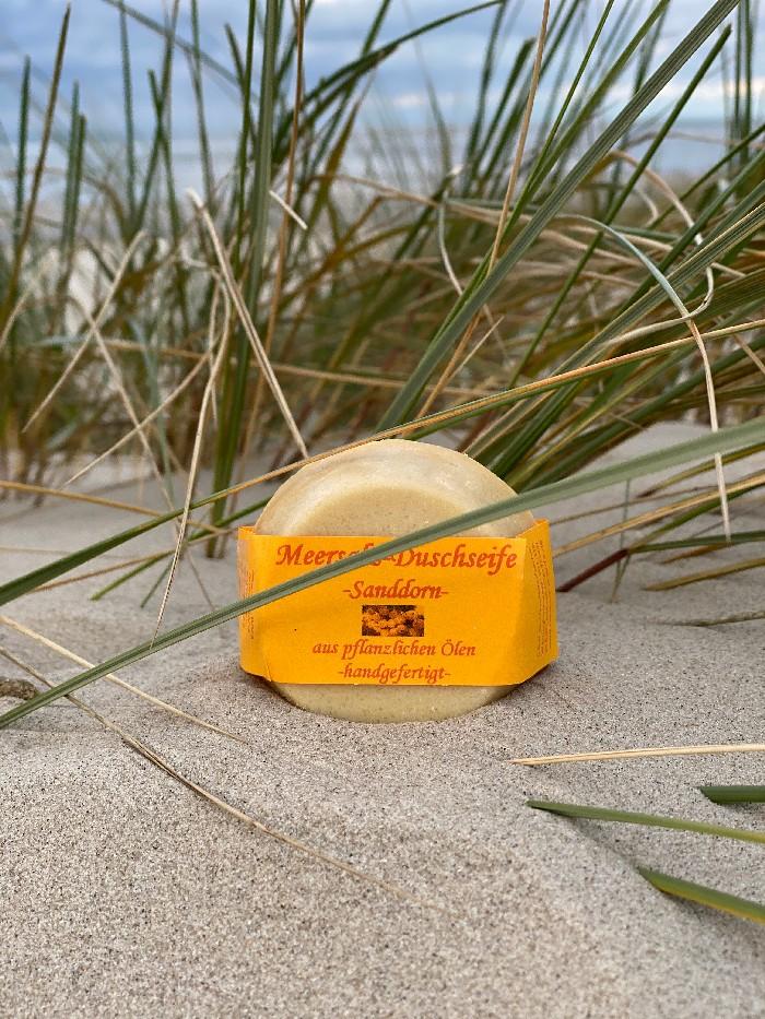 Meersalz-Sanddorn Duschseife