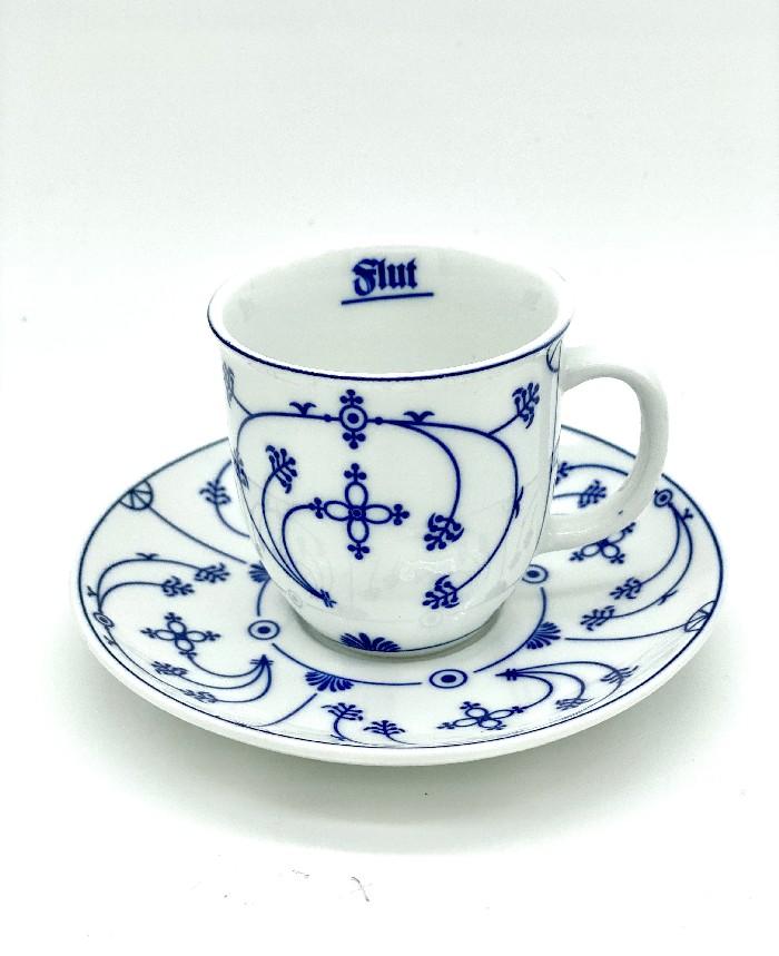 Espressotasse Indisch Blau
