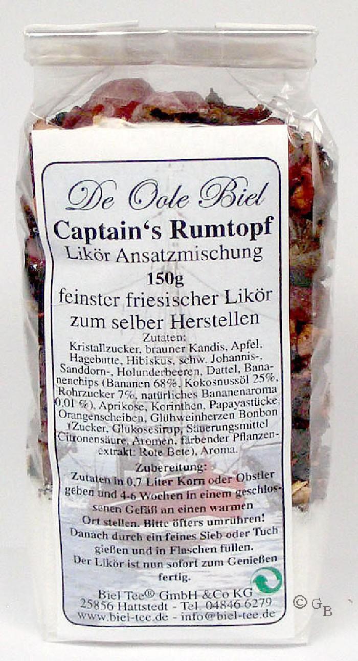 Captain`s Rumtopf